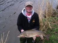 Phil Holland Ribble Barbel 9 lb 15oz