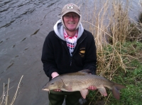 Phil Holland Ribble Barbel 9 lb 15oz